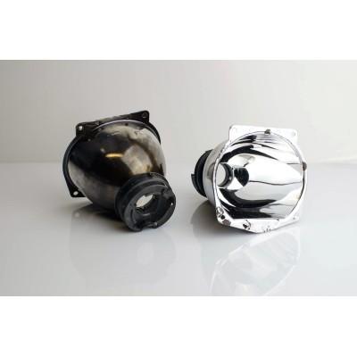 Regeneracja soczewki, odbłyśnik - Mazda 3