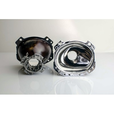 Regeneracja soczewki, odbłyśnik - Mercedes R-klasa