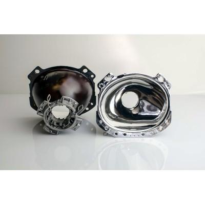 Regeneracja soczewki, odbłyśnik - Opel Astra