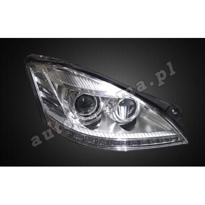 Regeneracja reflektorów - Mercedes S W221