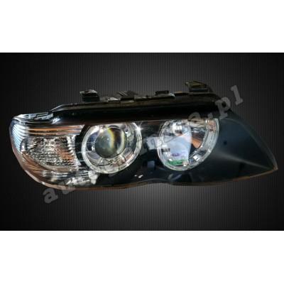 Regeneracja reflektorów - BMW X5 E53 FL
