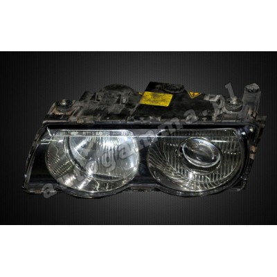 Regeneracja reflektorów - BMW 7 e38