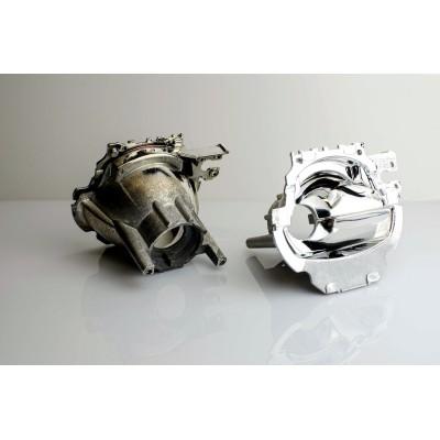 Regeneracja soczewki, odbłyśnik - Porsche Cayenne