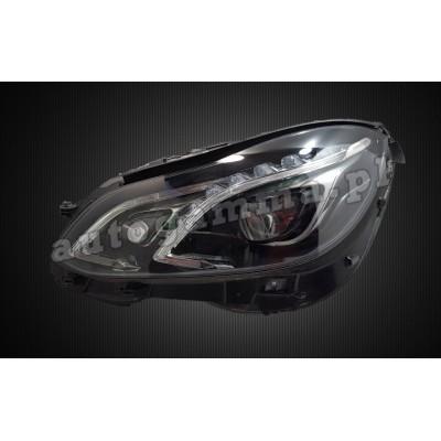 Regeneracja reflektorów - Mercedes W212 lift