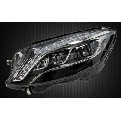 Regeneracja reflektorów - Mercedes W222 przed lift