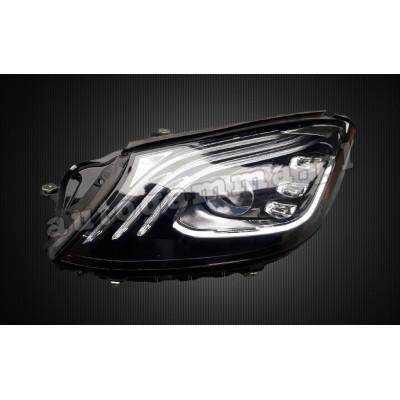 Regeneracja reflektorów - Mercedes W222/S350 lift