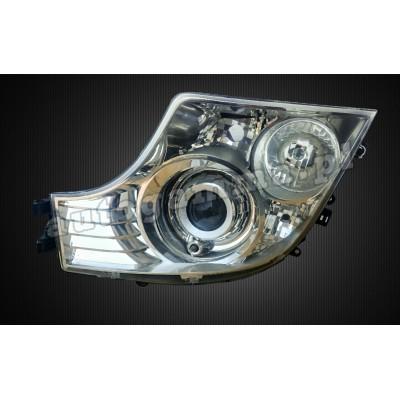 Regeneracja reflektorów - Mercedes Actros 2013