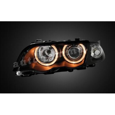 Regeneracja reflektorów - BMW 3 e46