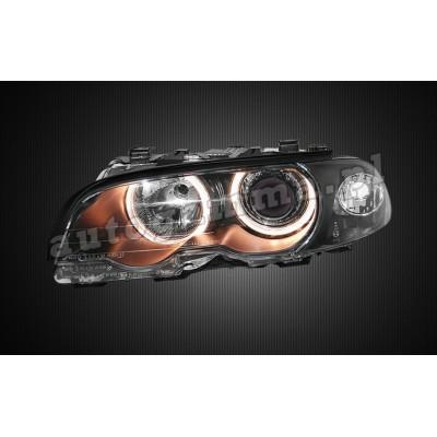 Regeneracja reflektorów - BMW 3 e46 przed lift Coupe/Cabrio