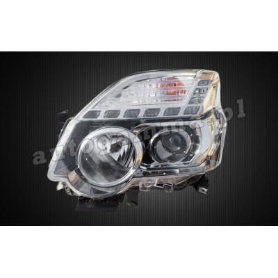 Regeneracja reflektorów - Nissan X-trail lift (10-14)