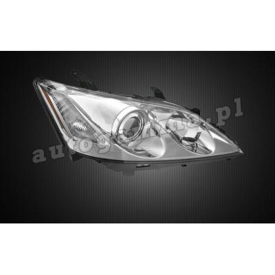 Regeneracja reflektorów - Peugeot 407