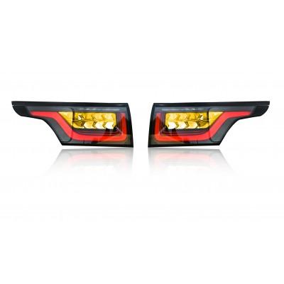 Range Rover Sport - Kodowanie adaptacja przeróbka lamp tylnych USA-EU
